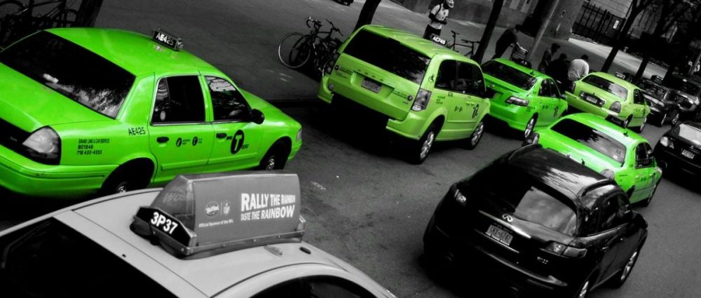 NYC accessible taxi