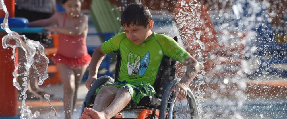 wheelchair accessible water park
