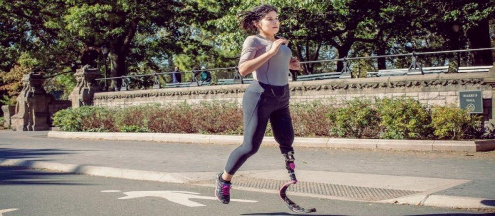 Krysten Chambrot training for the NYC marathon