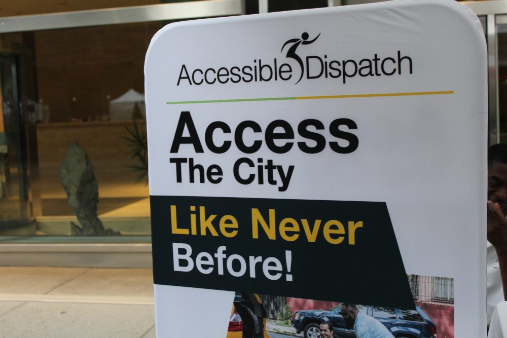 Photo of Accessible Dispatch banner.